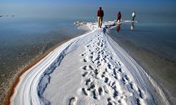 خشک شدن دریاچه ارومیه