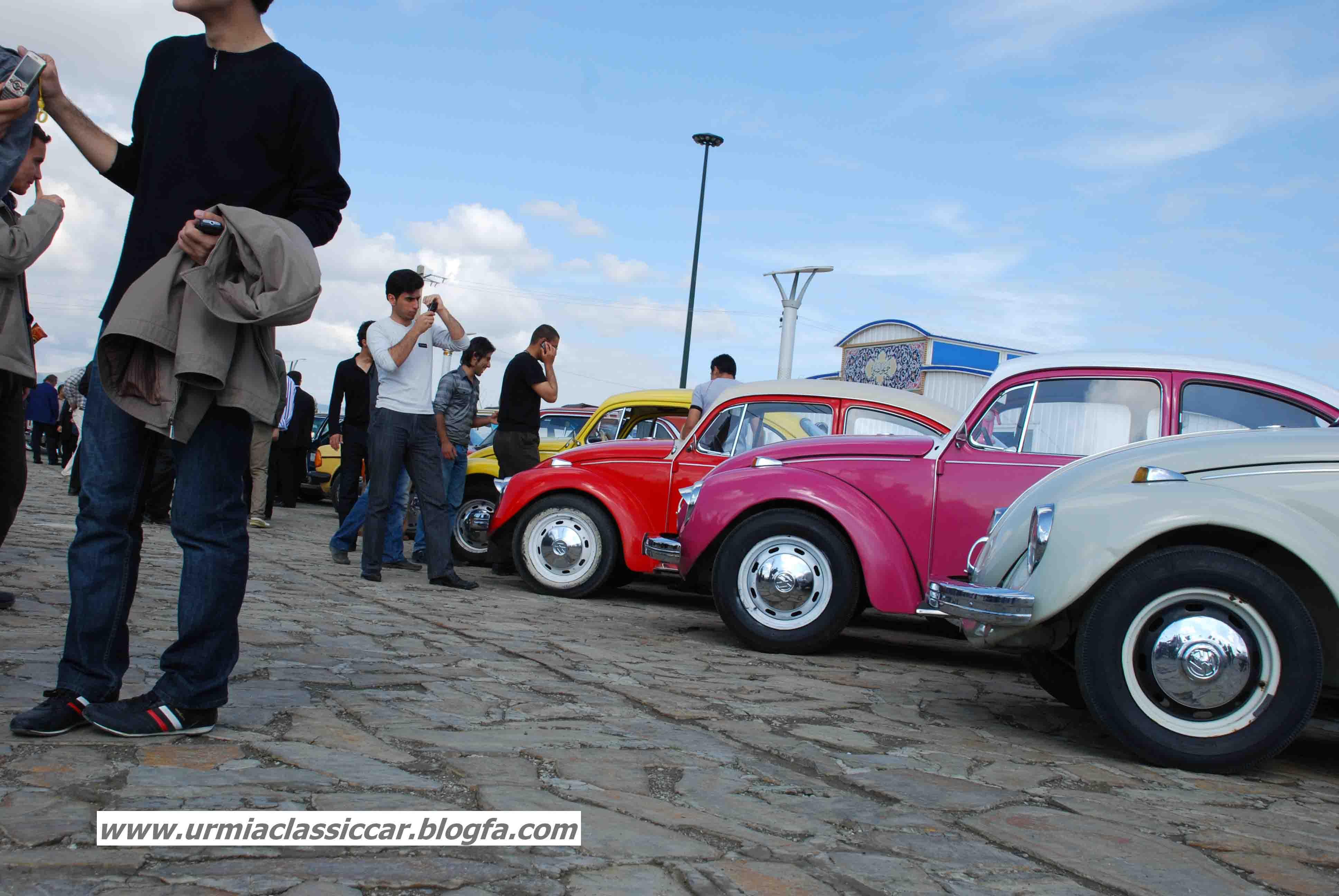 اولین گردهمایی خودروهای کلاسیک ارومیه