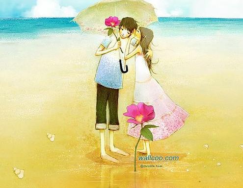 عکس عاشقانه کارتونی