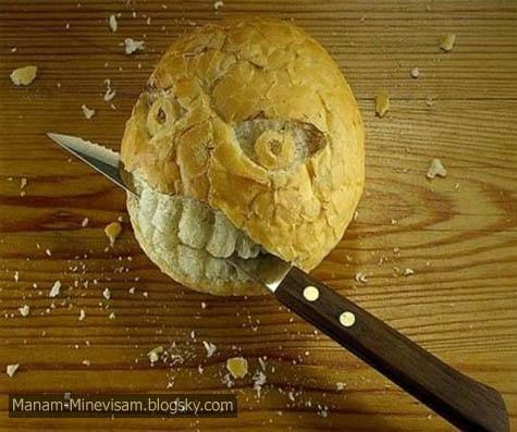 تصاویر جالب از خوراکی ها