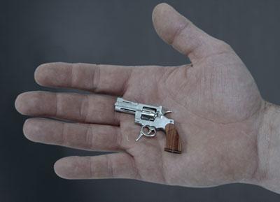 کوچکترین تفنگ جهان