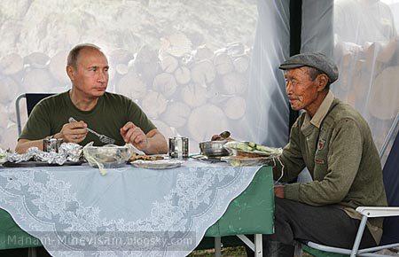 عکس های متفاوتی از ولادیمیر پوتین