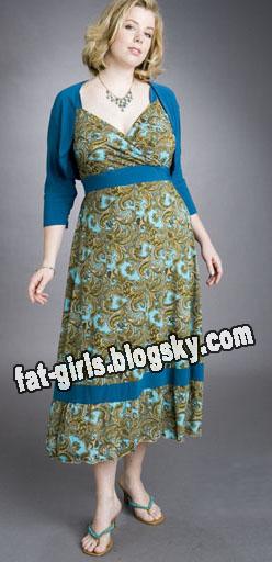 مدل لباس برای خانم های چاق