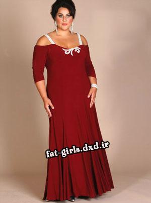 مدل لباس خانم های چاق