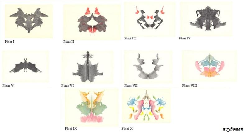 Rorschach test - Test di rorschach tavola 1 ...