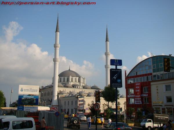 مسجد استانبول زیتون بورنو