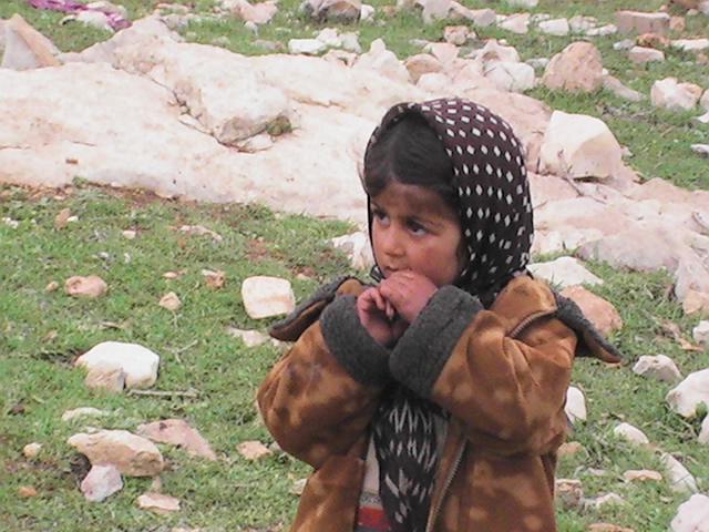 دختر عشایر در منطقه گریوه استان خوزستان تحت تملک ایل آرپناهی  (تش مولاوند)