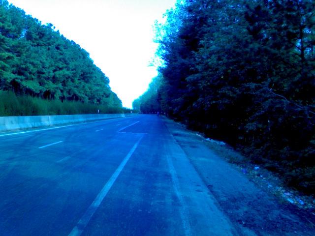 جاده آستارا - انزلی بعد از سه راهی گیسوم