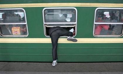 اینم یه راه سوار شدن به مترو