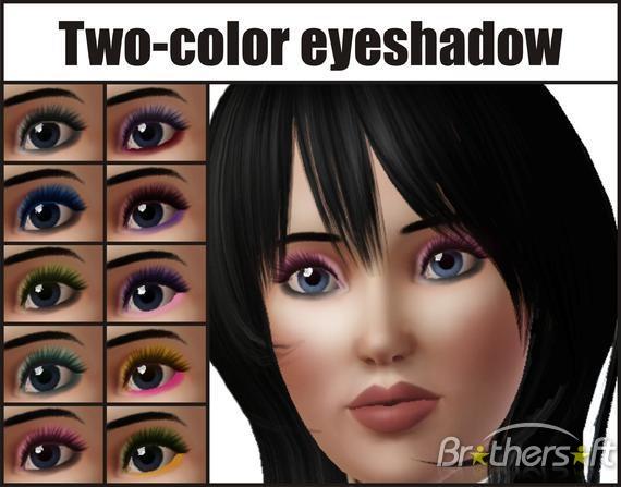 سایه چشم برای سیمز 3