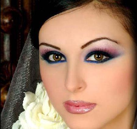 afz%20%2811%29 آرایش صورت دخترانه