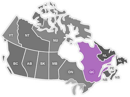 ایالت کبک در کانادا