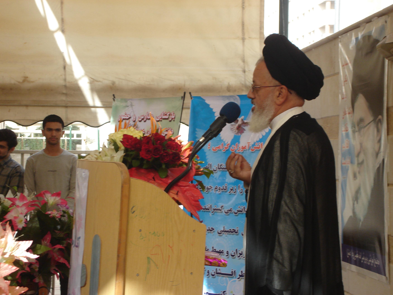 سخنرانی جناب حاج آقای حسینی نماینده ولی فقیه در سوریه