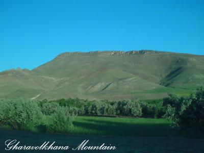 قاراولخانا، کوه زیبای روستای هاچاسو