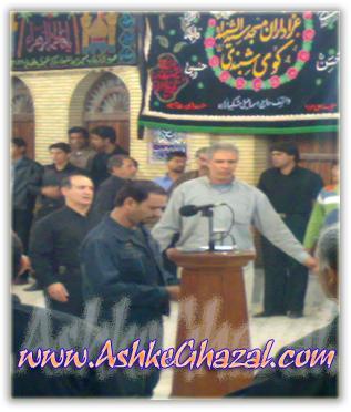 علی دشتی آرام | مسجد شنبدی