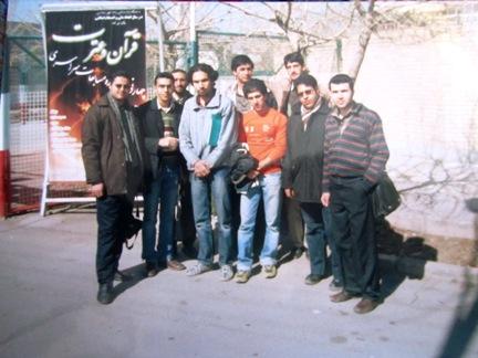 بازدید از دانشگاه آزاد اسلامی شهر مجلسی (زمستان86)