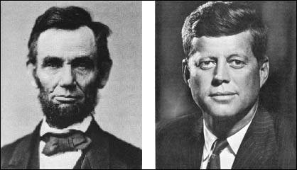 جان اف کندی و آبراهام لینکن، دو رئیس جمهور غیر ماسونی