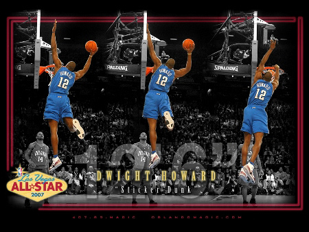 dwight howard dunking pictures. vince carter dunk contest