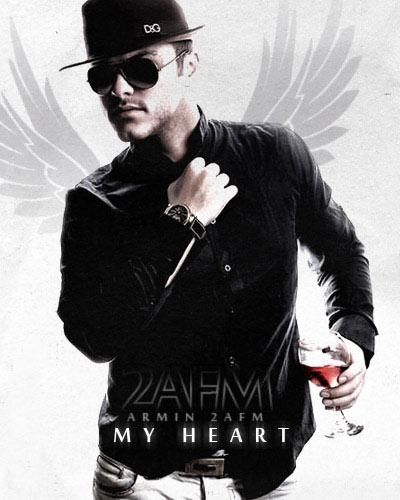 آهنگ جدید زیبای آرمین ۲afm با نام قلبم