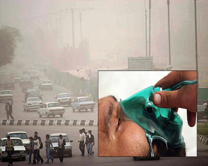 توصیه پزشکی به جانبازان شیمیایی در هوای آلوده