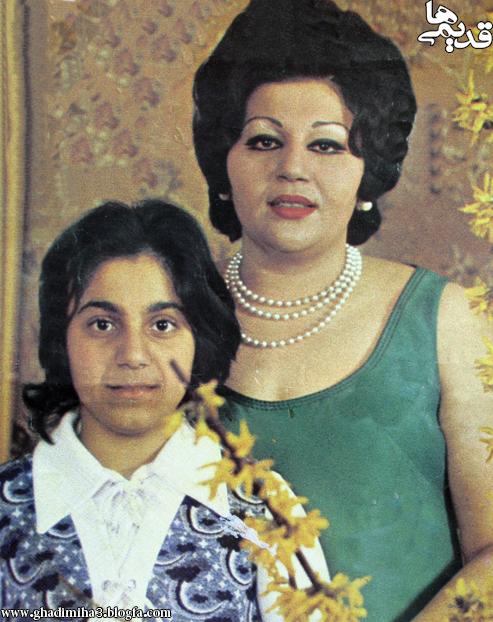 زنده یاد هایده و دخترش
