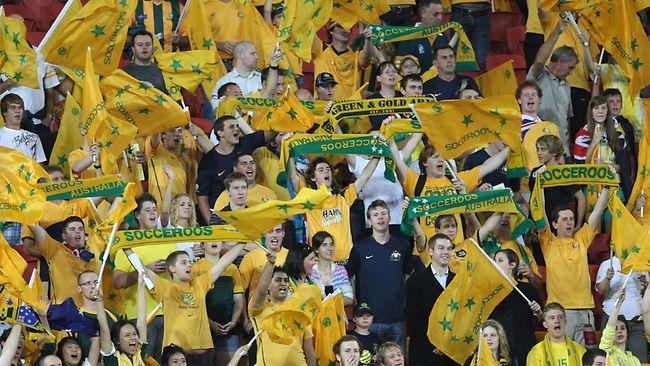 طرفداران تیم استرالیا در جام ملتهای آسیا 2011