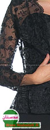 مدل لباس شب سری دوم - Www.ModestaN.ir