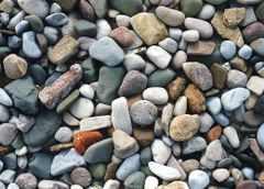 ماسه سنگ : يك نمونه سنگ رسوبی