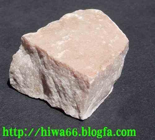 سنگ ماربل سفيد : يك سنگ دگرگون شده