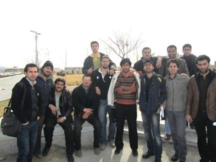 بازدید از دانشگاه آزاد اسلامی شهر مجلسی (زمستان 89)