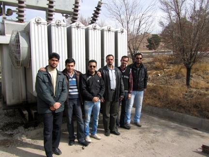 شرکت کوشش برق اصفهان( بهمن ماه 89 )