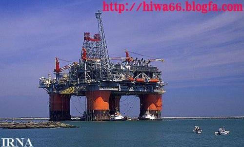 تصويری از يك پالايشگاه نفت در ايران