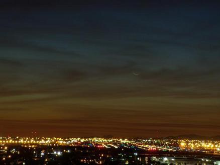 هلال ماه نو