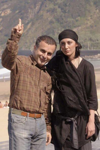 هدیه تهرانی و بهمن قبادی