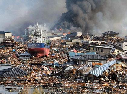 زمین لرزه در ژاپن