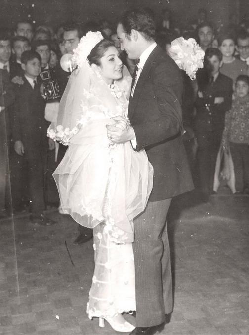 عکس عروسی سحر ذکریا