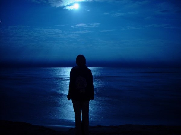 عكس عاشقانه احساسي و غمگين شب