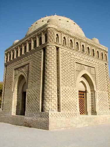 مقبره امیر اسماعیل سامانی در شهر بخارا