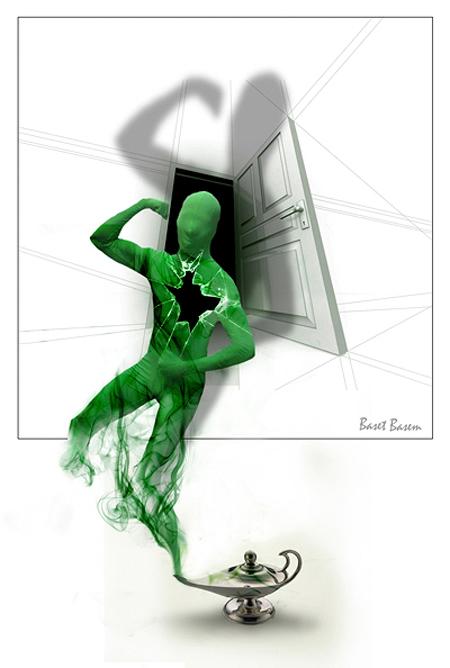غول فتنه سبز