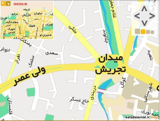 کوچه گوگل در میدان تجریش