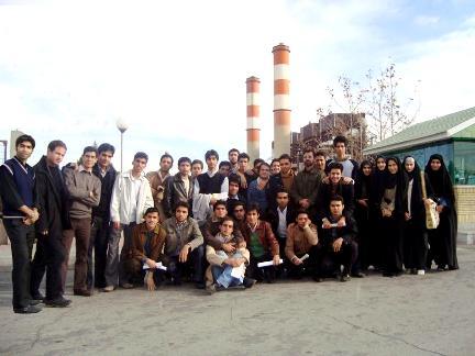 بازدید از نیروگاه توس- همراه با دانشجویان عضو انجمن علمی مهندسی برق دانشگاه آزاد خمینی شهر و نجف آباد
