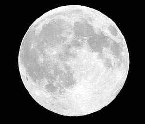 تصويری از كره ماه