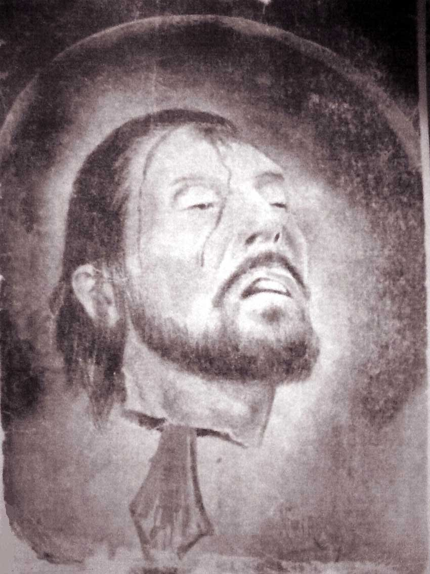تصویری  منتسب از سر بریده امام حسین(ع) در موزه لوور فرانسه