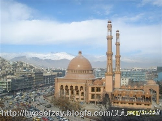 مسجد عبد الرحمن در شهر کابل