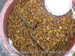 حشرات سوخاری شده برای تنقلات