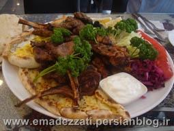 رستوران حلال فود در منطقه ای ته وان - سئول
