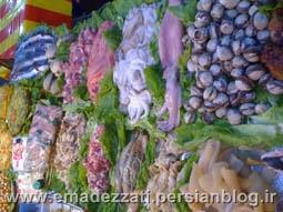 دستفروش یا رستوران سیار در منطقه نام ده موم
