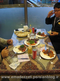 رستوران حلال فود در ای ته وان - سئول