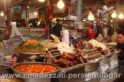 رستوران های سنتی و غذاهای سنتی در سئول