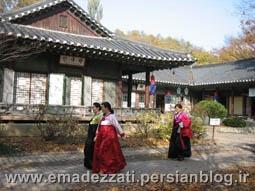 زنان کره ای با لباس های سنتی
